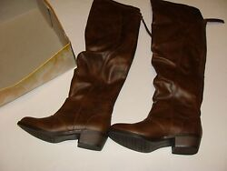 Mudd Brown Boots Size 6.5 New Shoes Womenand039s Highland Knee High