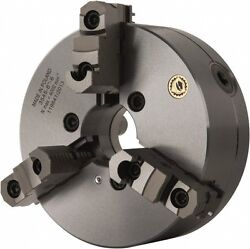 12 Bison 3 Jaw Forged Lathe Chuck D1-11 Direct Mount 2 Pc Hard Jaws 7-823-1239