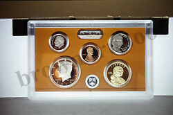 2015-s + 2014-s Proof Kennedy Penny Dime Nickel Dollar 10 Coins No Box Coa