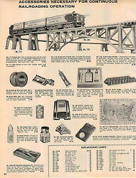 1961 Advert 12 Pg Lionel Toy Train Sets Minuteman Missile Sub Helicopter Target