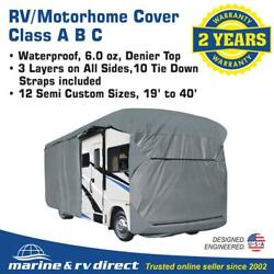 Waterproof Rv Cover Motorhome Camper Travel Trailer 25and039 26and039 27and039 Class A B C