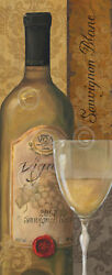 CANVAS WINE ART PRINT - From the Cellar I by Lisa Audit Bar Restaraunt 29x14