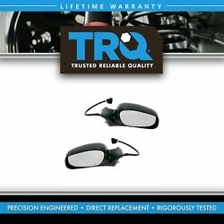 Trq Power Heated Memory Side View Mirrors Left/right Pair Set For 98-02 Town Car