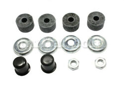 Fiat Dino 2000 2400 Front Axle Shock Absorber Rubber Buffer Set New