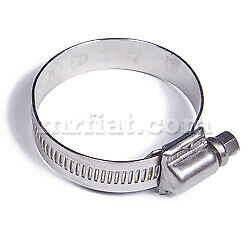 Fiat Dino 2000 2400 Stainless Steel Carb Fuel Hose Clamp 8-12 Mm New
