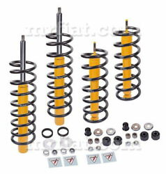 Fiat Dino 2400 Coupe Complete Shock Absorbers Springs Set New
