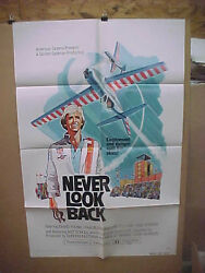 Never Look Back, Orig 1-sht / Movie Poster David Young - Stunt Pilots