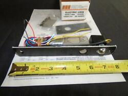 1 X Sdc 1490a Electric Lock Deadbolt 12/24vdc As Used