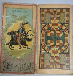 1898 board game get there mcloughlin bros