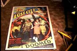 Lost City Episode Four Orig Movie Poster 1935 Serial