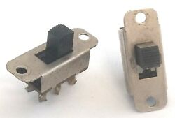 Two American Flyer Manual Reverse Slide Switches From Five Digit Locomotives