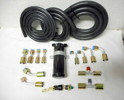 Air Conditioning A/c Hose Kitflare Fittingsflare Drier And Binary Switchhot Rod