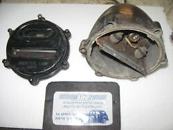 Vintage Industrial Military Army Cat Eye Blackout Tail Signal Light Assembly