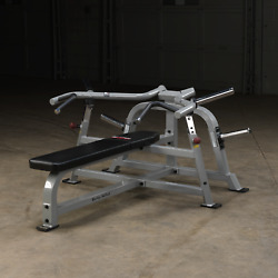 Body Solid Pro Club Lvbp Leverage Bench Press Commercial Plate Loaded Machine