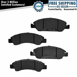 Raybestos Brake Pads Element 3 Eht1367h Kit Set Front For Cadillac Chevy Gmc