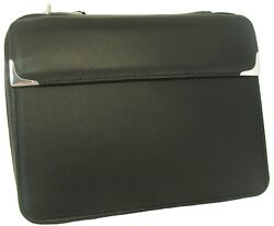 Martin Wess Silverline Metis Nappa Leather 5 Pipe Bag W. 925 Sterling New
