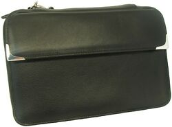 Martin Wess Silverline Metis Nappa Leather 4 Pipe Bag W. 925 Sterling New