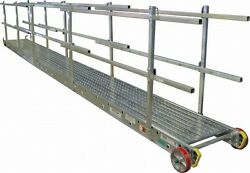 Marine Gangway 28 Width Square Handle Aluminum 750lb Rated
