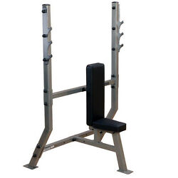 Body Solid Pro Clubline Olympic Shoulder Press Bench - Spb368g - Commercial