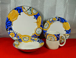 64-piece Set For 16 Of Furio Pat. Fuo33 Time Piece China - Mostly Unused
