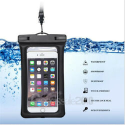 Waterproof Bag Underwater Pouch Dry Case Cover For iPhone Cell Phone Touchscreen $5.99