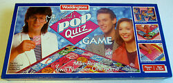 mike read pop quiz board game waddingtons