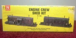 n scale alloy forms n 128 engine crew shed