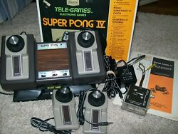 htf sears super pong iv tele games model