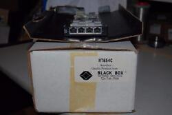 Black Box Mt 854c Compact T1 Channel Bank Cards 4-port T1 Card New