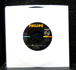 Ted Harris - Loveand039s Been Here And Gone Vg+ 7 Vinyl 45 Rare 1966 Philips 40399