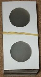 5000 Lighthouse 30mm Small Sacagawea Dollar 2x2 Paper Coin Flips 2 X 2 Holders