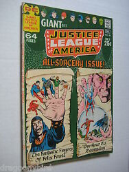 2 Vintage Old Collectible Justice League Dc Comic Books 85 Vf- And 86 Vf Lot