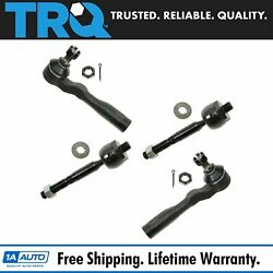 Trq Tie Rod End Inner Outer Lh Rh Set Of 4 For Tundra Sequoia Pickup Truck Suv