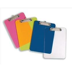 A4 Solid Strong Plastic Clipboard Quantity And Colour Choice