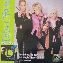 Dixie Chicks Ready To Run Australian Promo Poster - Country, Bluegrass Music
