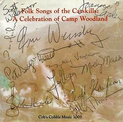 Signed Cd Booklet Folk Songs Of The Catskills - Celebration Of Camp Woodland