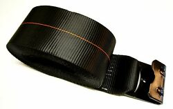 12 Black 4 X 30and039 Winch Straps Flat Hook Flatbed Truck Trailer Tie Down Strap Fh