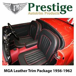 Mga Roadster Carpet Set Leather-faced Seat Covers Trim Panels 1956-1962