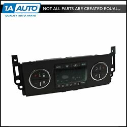 AC Delco Heater & AC Climate Control Panel Assembly for Suburban Yukon Tahoe
