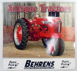 2010 Antique Tractors Calendar With Behrenand039s Parts Plus Advertising