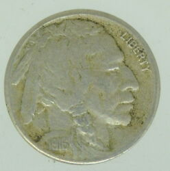 1916 S United States Buffalo Nickel Five Cents