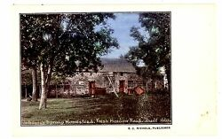 Flushing Queens Li Ny-johanneand039s Sprong Homestead-fresh Meadow Road-postcard