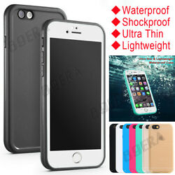 Armor Heavy Duty Waterproof Shockproof Dirtproof Protector Case Cover For Iphone
