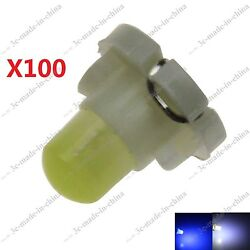 100X T4.2 Neo Wedge LED Cluster Instrument Dash Climate Base Light Bulbs 21280