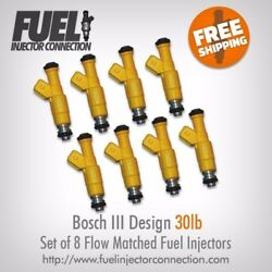 Fic Design Iii 30lb Modified Fuel Injectors For Gm, Ford, Chrysler, Audi, Vw