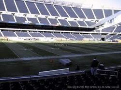 2 CHICAGO BEARS  PSL'S LOWER LEVEL SECTION 112  SOLDIER FIELD CHICAGO ILLINOIS