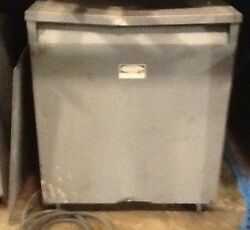 Square D 150 Kva Three Phase Insulated Transformer Cat 150t3h