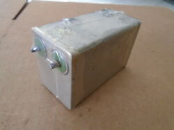 1 Ea Serviceable Capacitor Assy Used On Jt8d Aircraft Engine P/n 10-377980