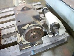 Headstock Tailstock Rotary Table W/ A2-6 Spindle Nose Turing Spindle Index Or C
