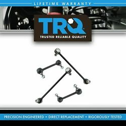 Trq 4 Piece Front And Rear Sway Bar End Link Kit Lh And Rh Sides For Ford Mercury